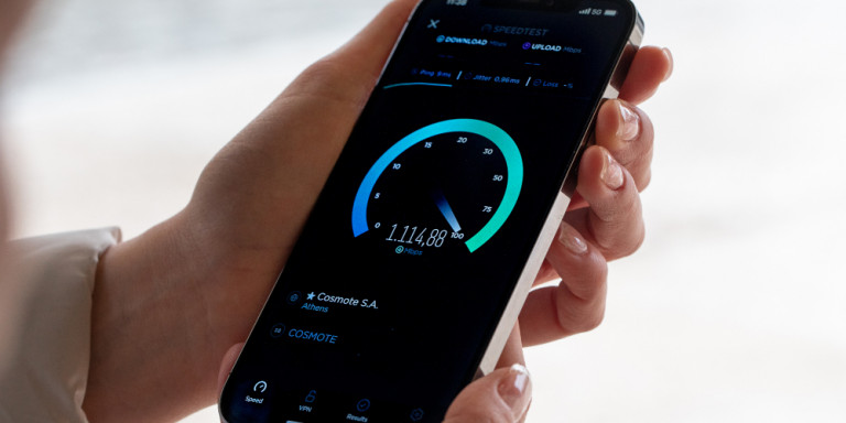COSMOTE was the first company in Greece to introduce 5G - Internet of the Future technology