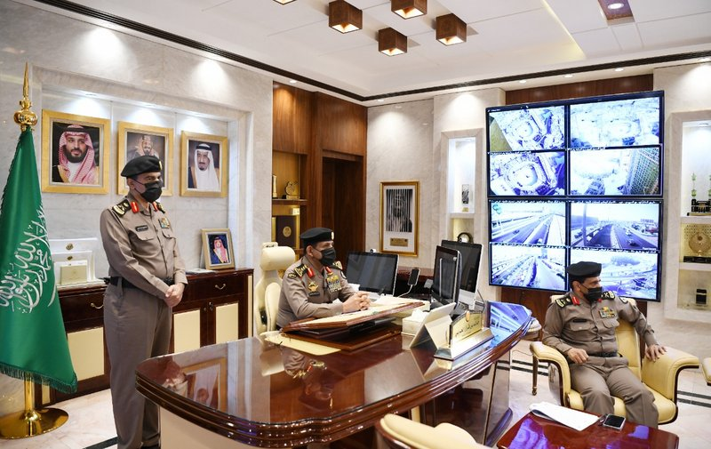 The Director of Public Security inaugurates 7 centers for launching road security patrols in several regions