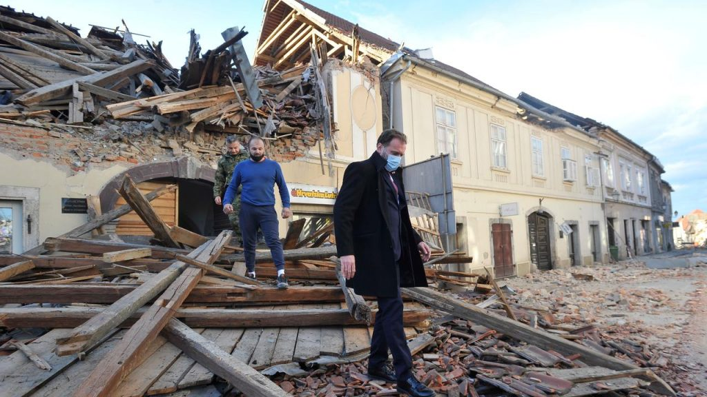 At least six people were killed and dozens injured in an earthquake in Croatia |  right Now