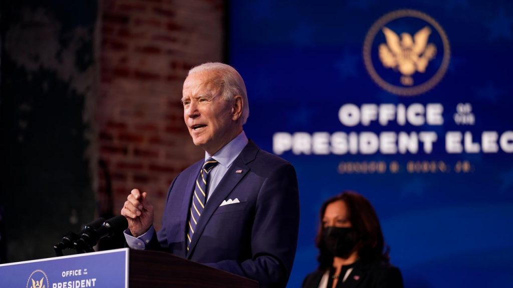 Biden: Trump is still blocking the transfer of power now