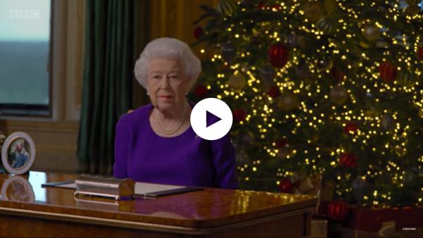 Christmas speech by Queen Elizabeth II of the United Kingdom (video)