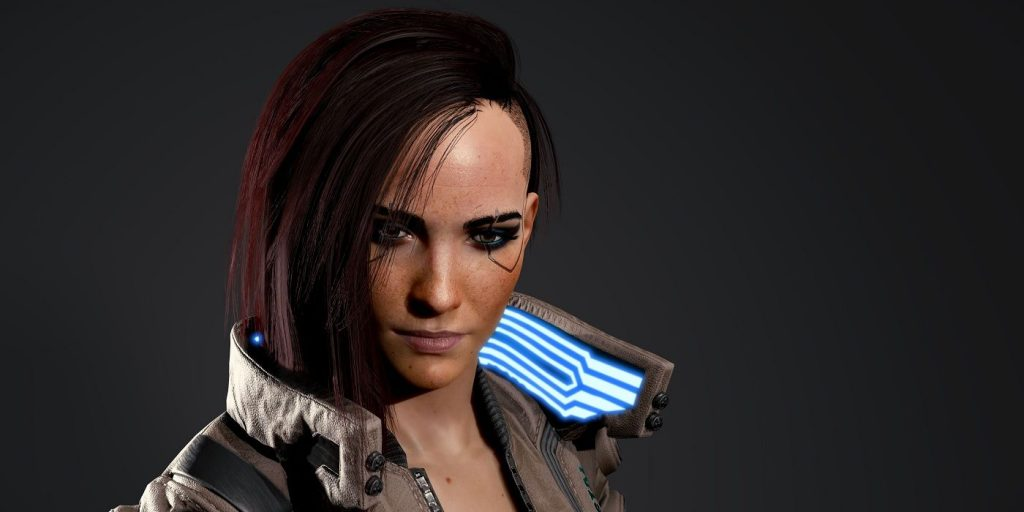 Cyberpunk 2077 Third Person Mod appears in the video