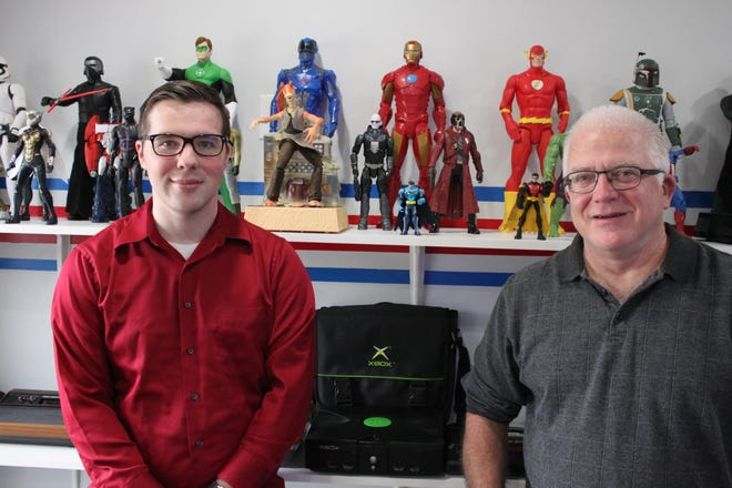 Father and son duo open a video game store in Exeter