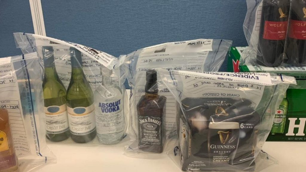 Five people fined for selling alcohol illegally