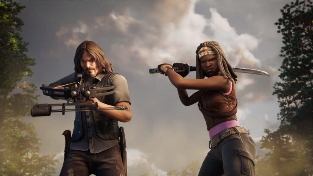 Fortnite's The Walking Dead portal is now open