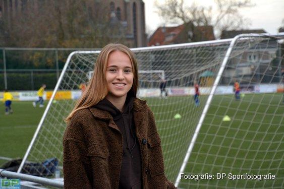 General Daphne Van Dumselaar, for FC Twente, LSV, Orange and played football in the time of Corona
