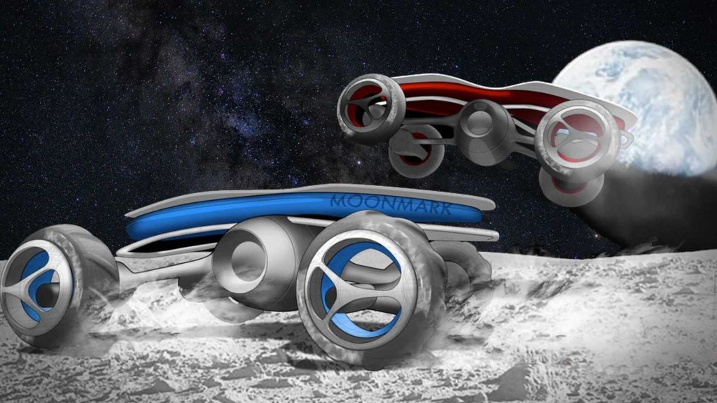 High school students design RC cars for a race ... on the moon