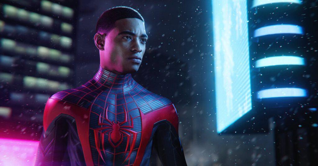 """In """"Spider-Man: Miles Morales,"""" Harlem talks back.  Evan Narcisse helped achieve this."""