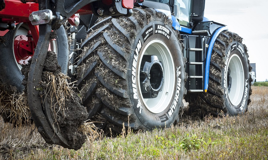 "Increasing agricultural productivity through the use of ""Ultraflex"" - an innovative Michelin technology 