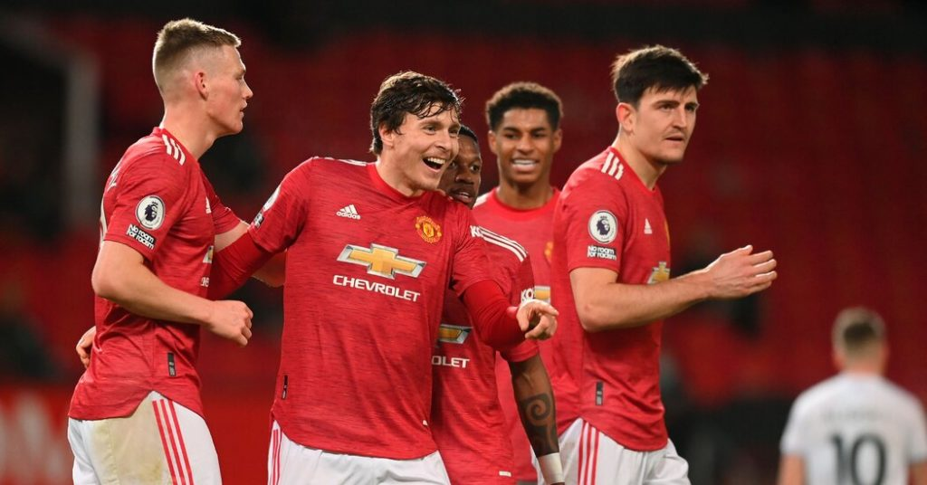 Manchester United sends a message.  But what is it exactly?