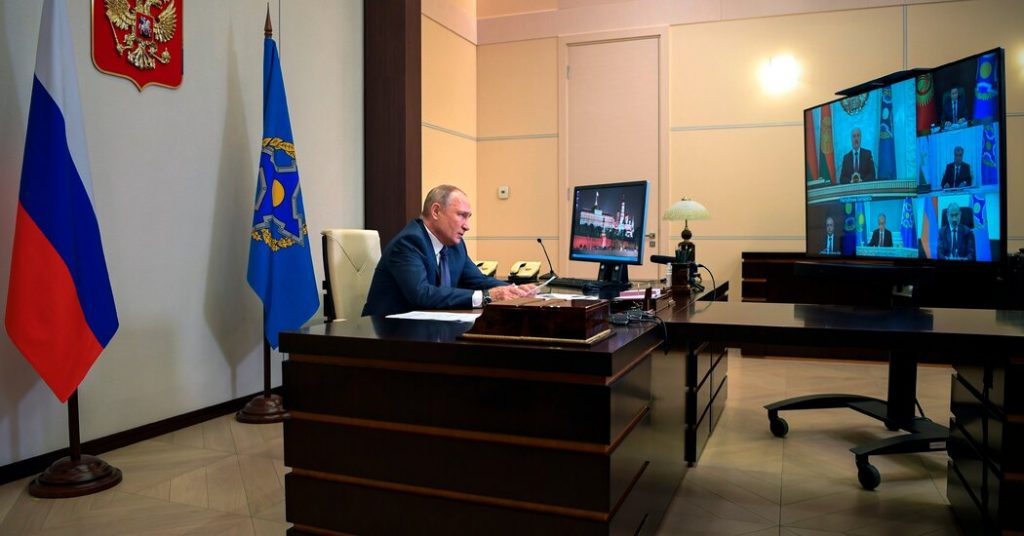 Putin said he has two identical offices: one in Moscow and the other on the beach