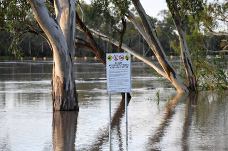 Rescue of a 10-year-old Australian boy and father from a flooded bush