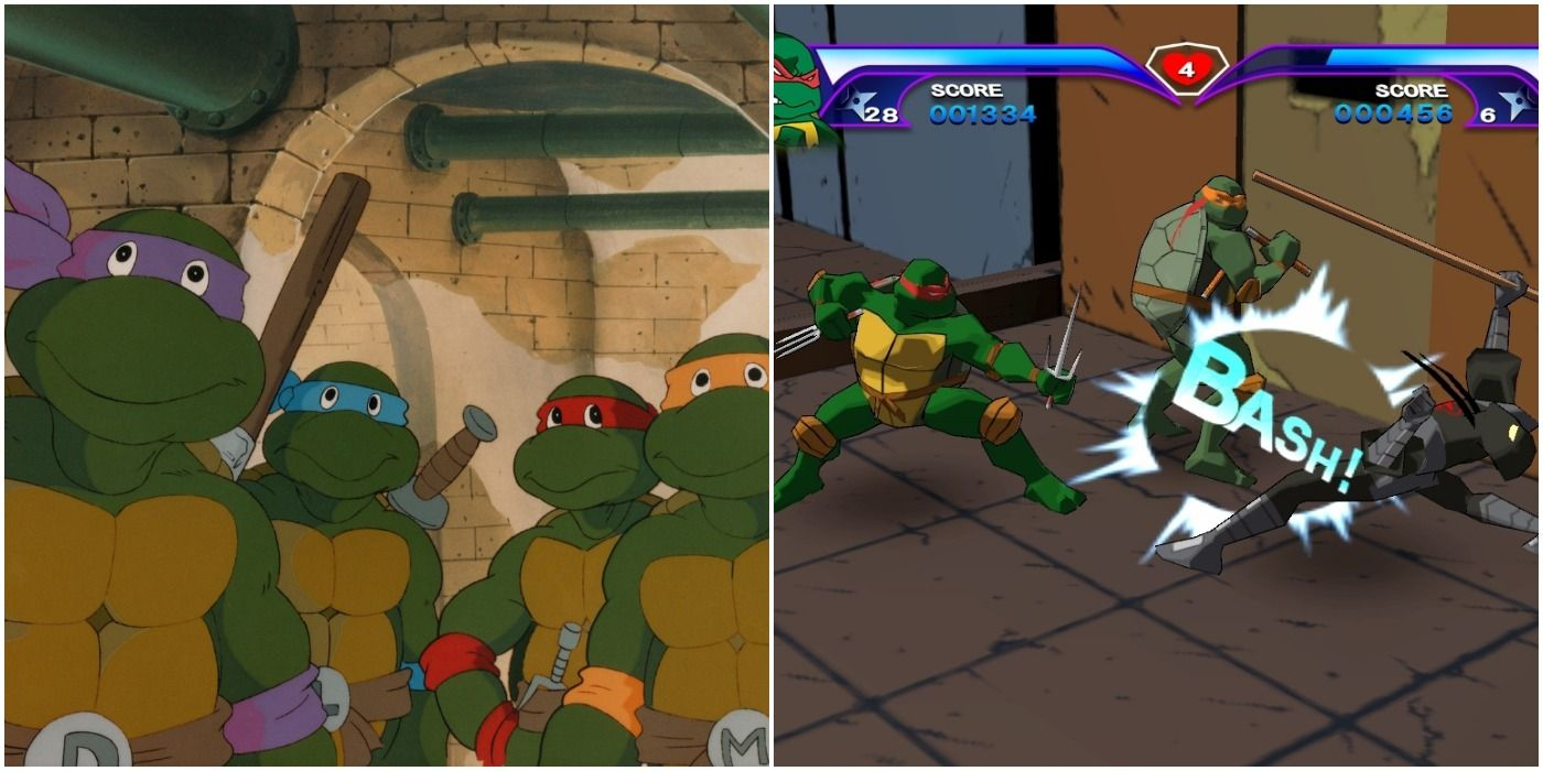 The 10 Best Video Games Based On The Teenage Mutant Ninja Turtles Ranked