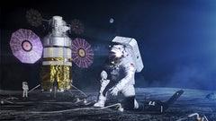 Artist's impression of Artemis Moon's mission.  (Image: NASA)