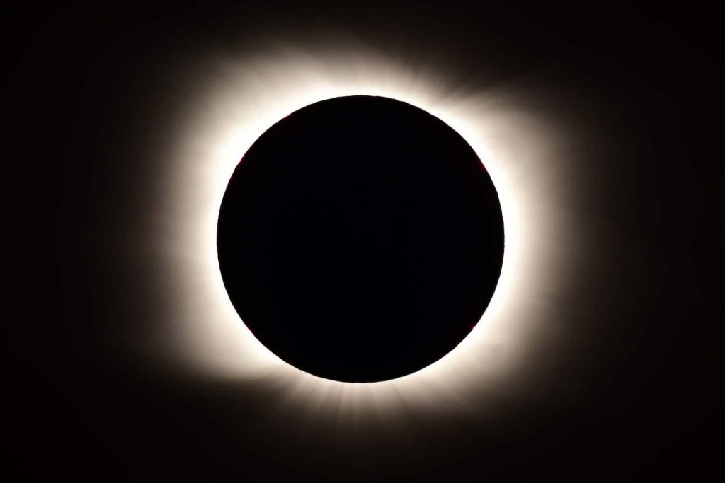 The total solar eclipse will dazzle over Chile, Argentina on Monday