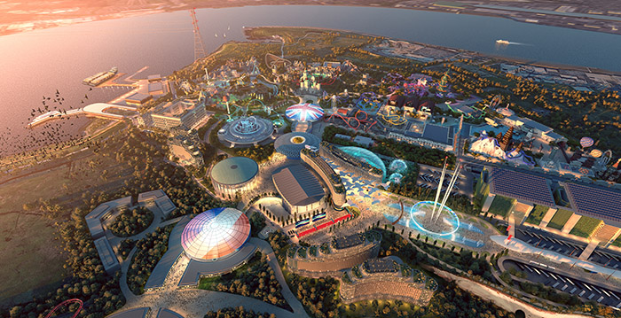 Milestone: Planning request submitted for the giant London theme park