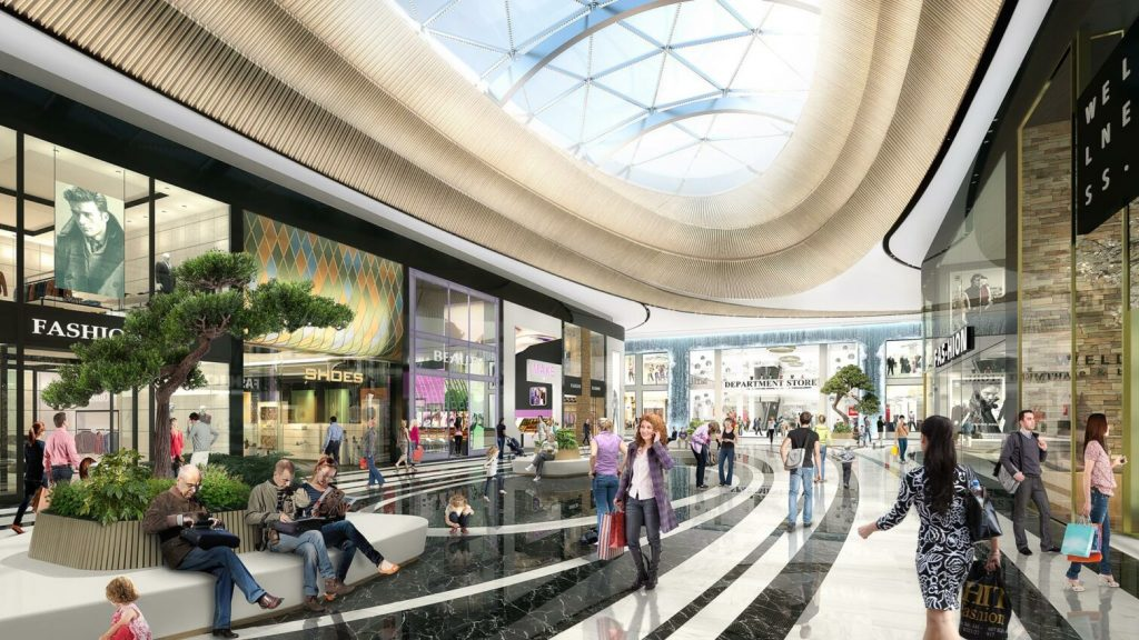 The Mall of the Netherlands will really open this fall and that's what it means
