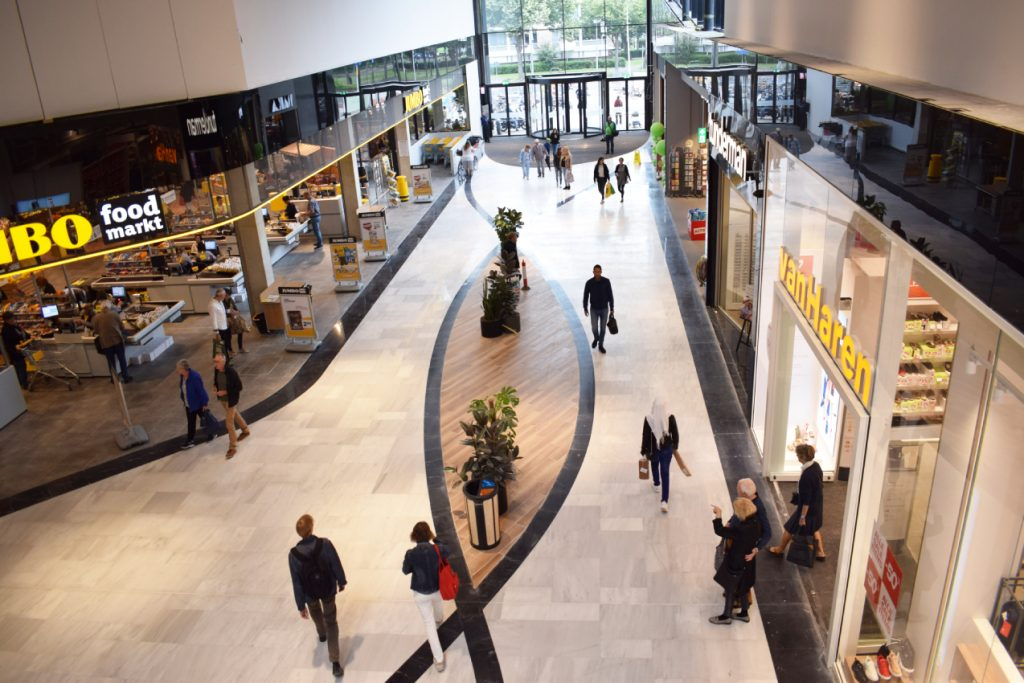 This is fast!  These stores are actually closed on The Mall of The Netherlands
