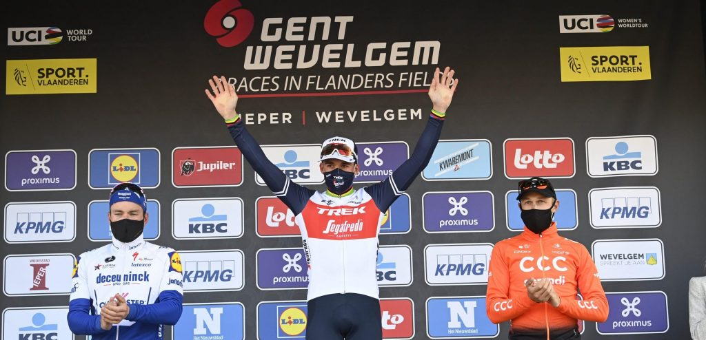 Front, the Flanders classics and the Amstel Gold Rice unite