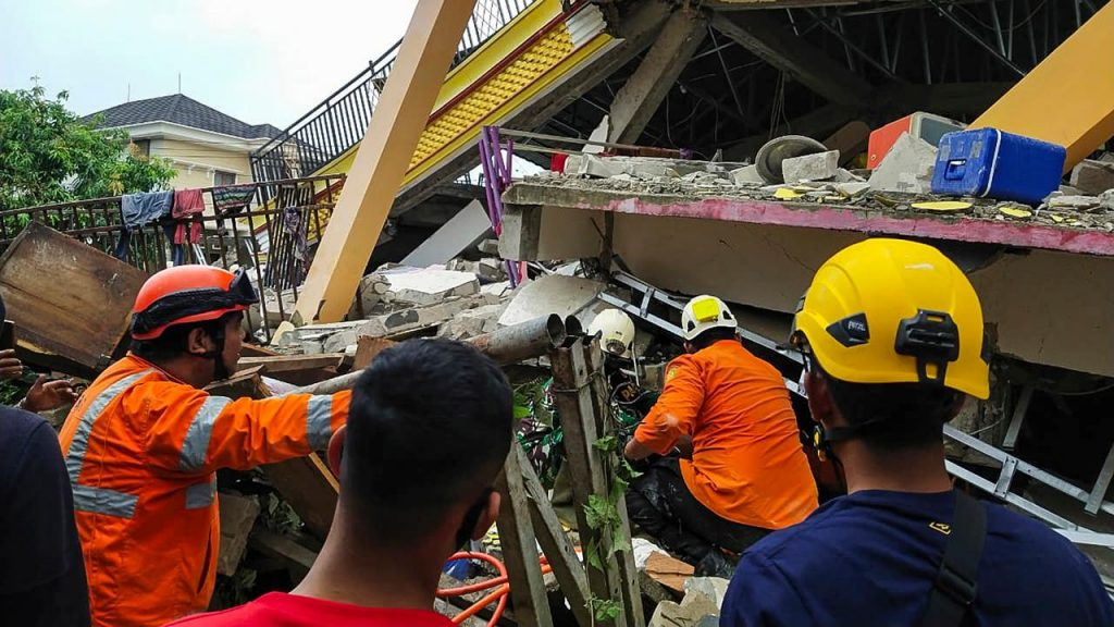 Seven dead and hundreds injured in the severe Sulawesi earthquake  right Now