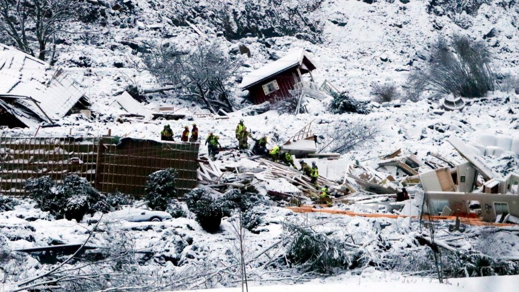 A landslide victim found in Norway |  right Now