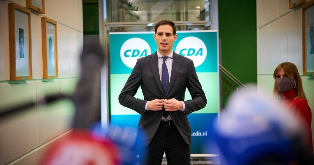 CDA Refuses to Ban Fireworks and Hoekstra Party Leader |  Policy