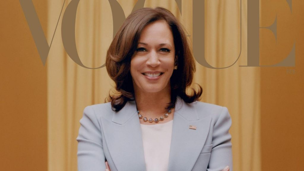 Following criticism, Vogue creates new cover for the edition with Kamala Harris |  right Now