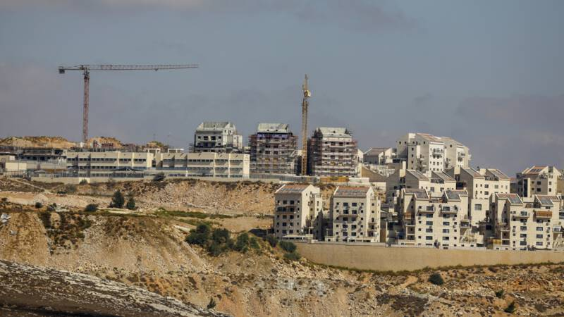 Israel announces construction of 800 new homes in the occupied West Bank