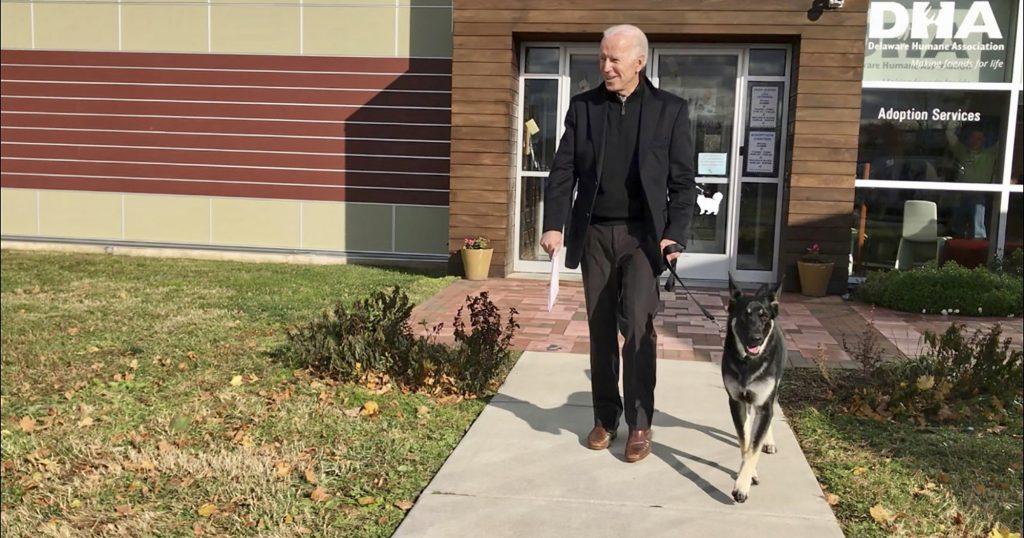 Josh Groban sings to Joe Biden's dog shelter flagship - Wel.nl