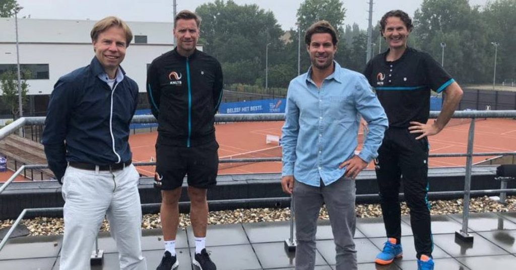 KNLTB brings back tennis coach Peter Lucasin from Vught from the US |  Regional sport