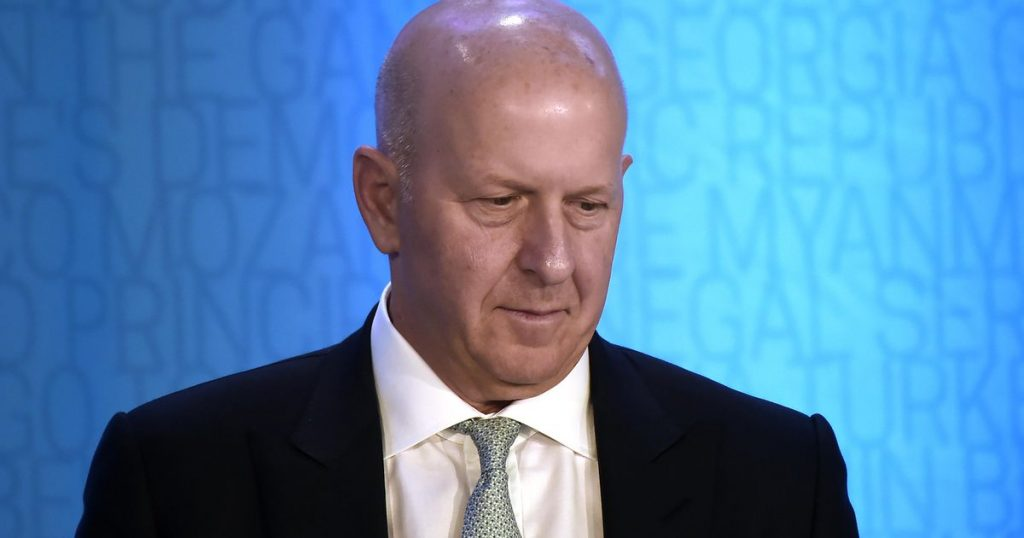 Knife in rewarding Goldman Sachs CEO for fraud scandal |  Financial issues