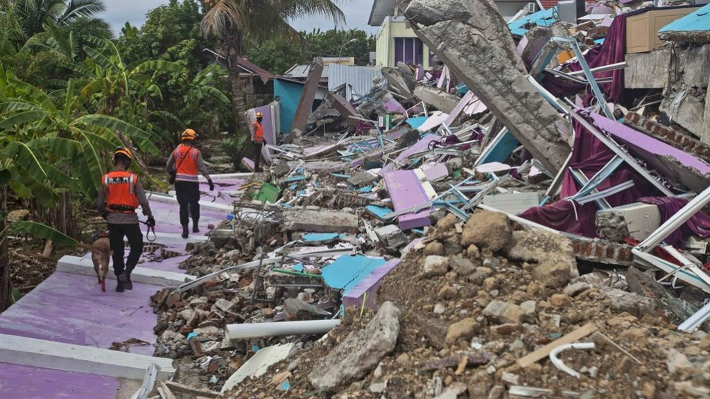 More than 70 dead in Indonesia earthquake, and search continues