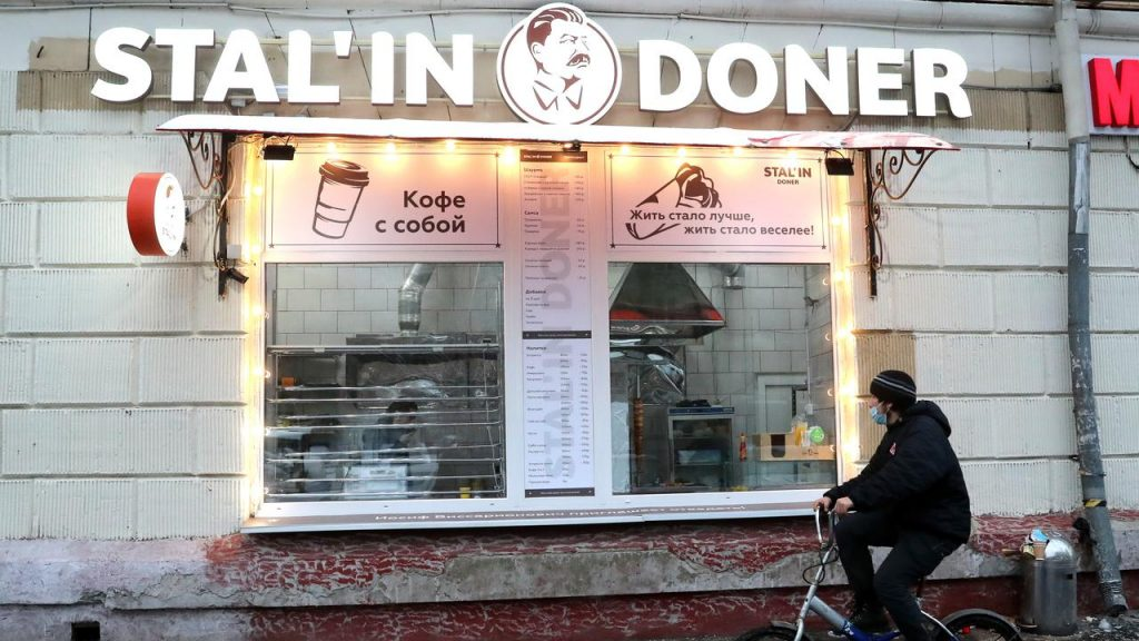 """Restaurant closed in Moscow due to """"tasteless accents of Stalin"""" 