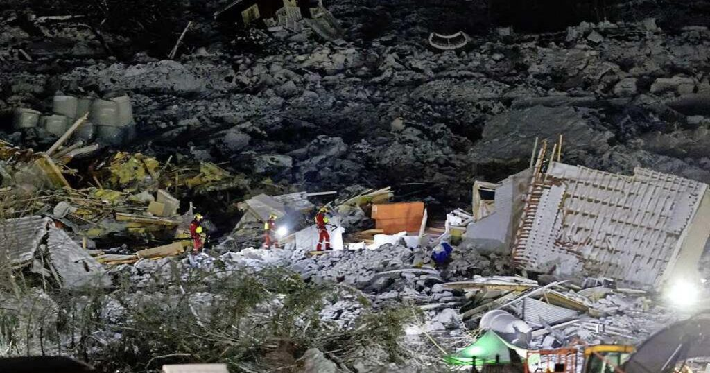 "Seven dead are saved now after the ""fast mud"" tragedy 