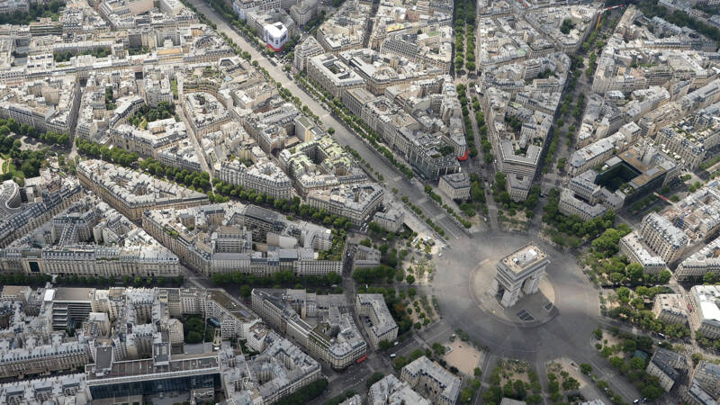 "The Mayor of Paris wants to turn the Champs-Elysées into a car-free ""park"""