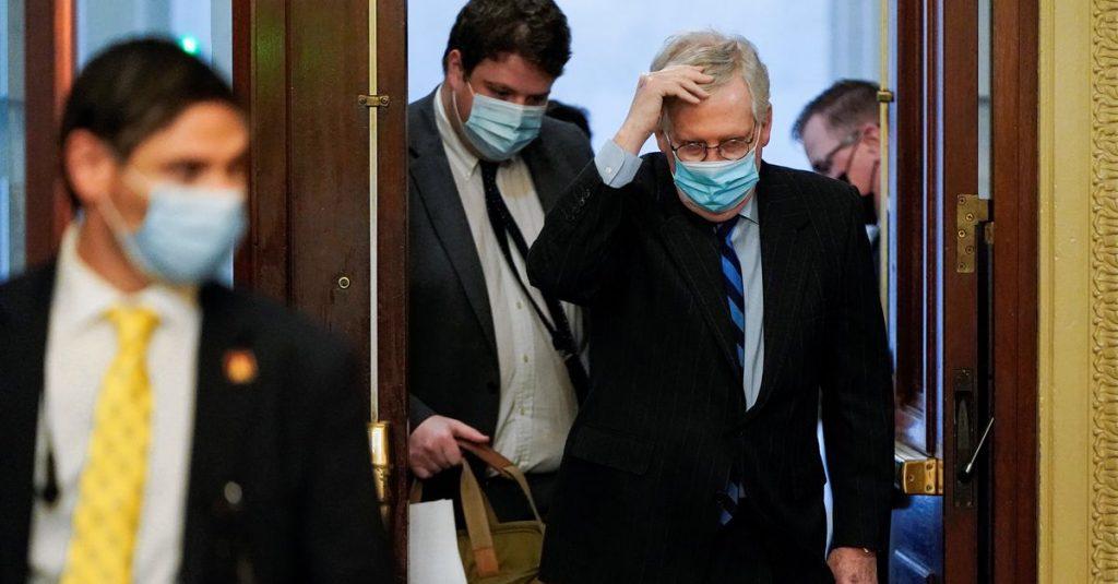 US Senate leader blocks Trump's demand to boost coronavirus relief