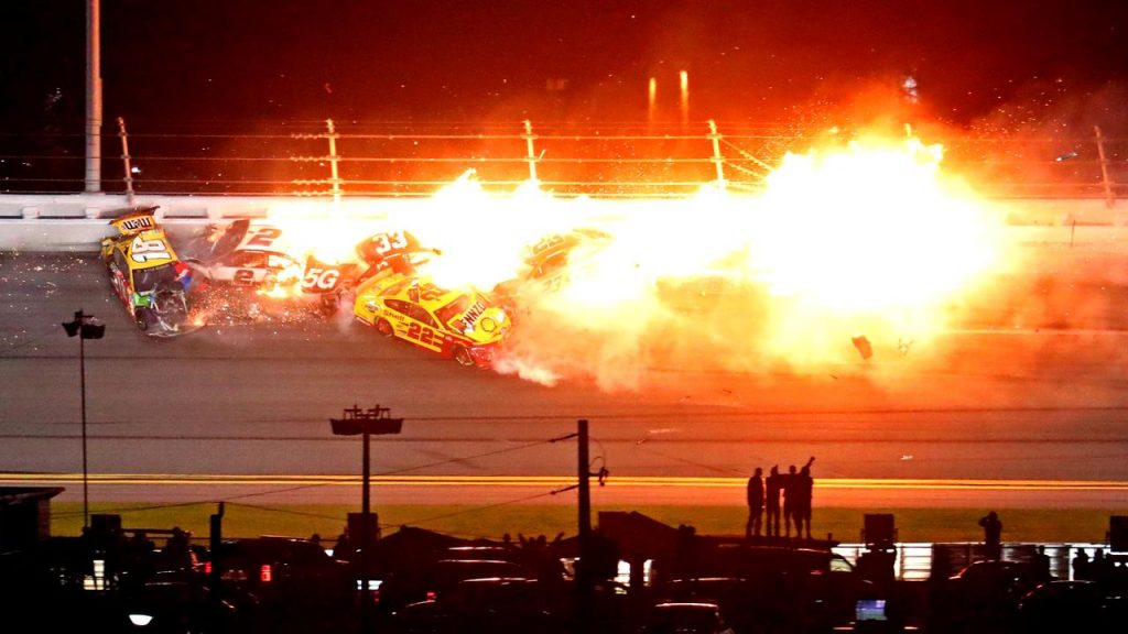 McDowell profiting from a major breakdown in the closing stages and wins the Daytona 500 |  Currently
