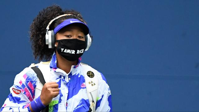 Naomi Osaka wore face masks at the US Open to name the black Americans killed by brutal police.