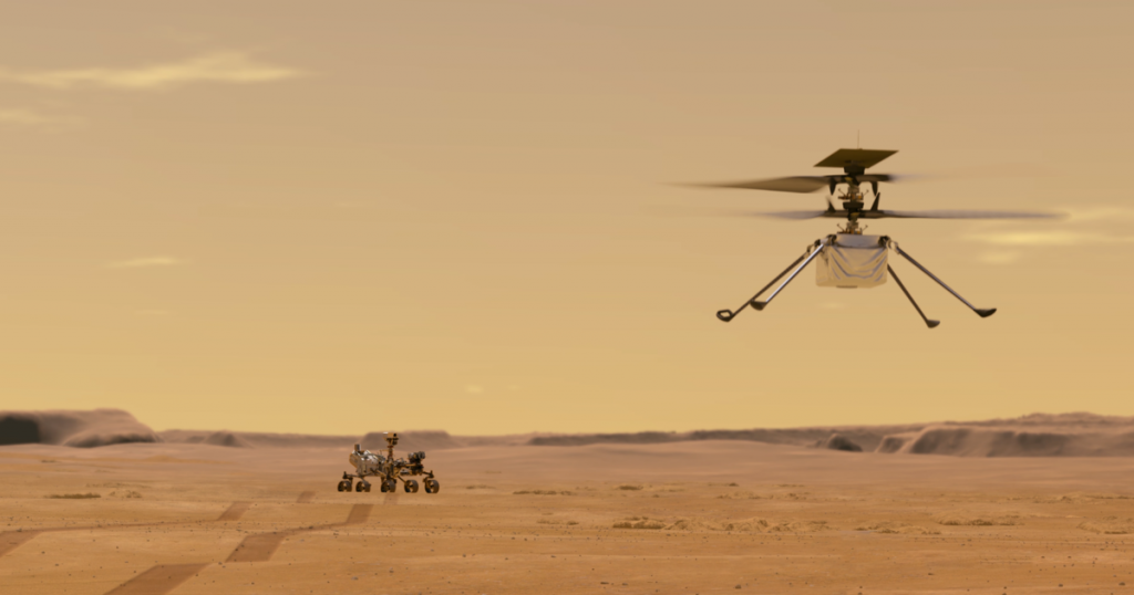 All there is to know about NASA's Creativity Mars helicopter
