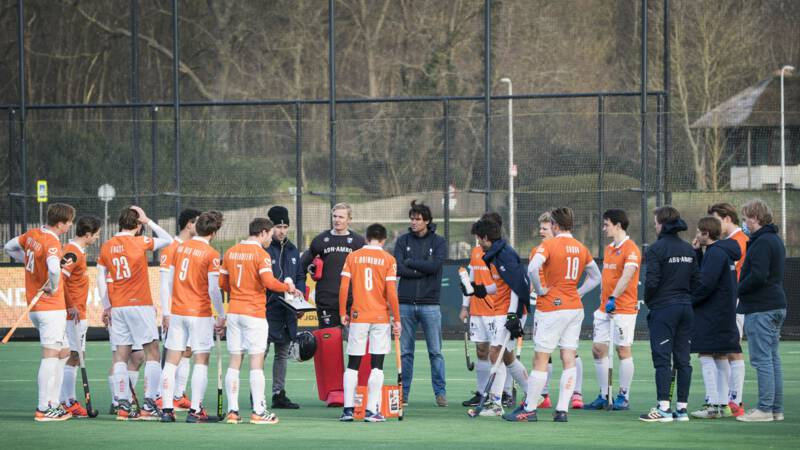 Bloemendaal floors, Amsterdam, all Sunday hockey duels have been canceled