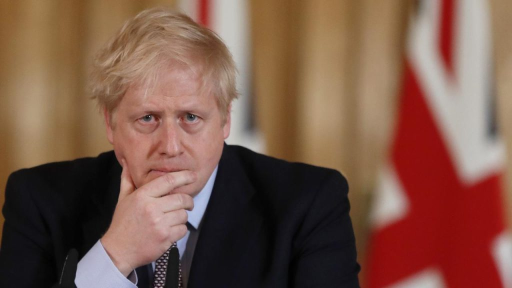 Boris Johnson plans a tunnel between Scotland and Northern Ireland |  Currently