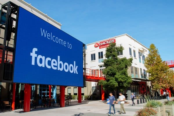 The social networking site Facebook