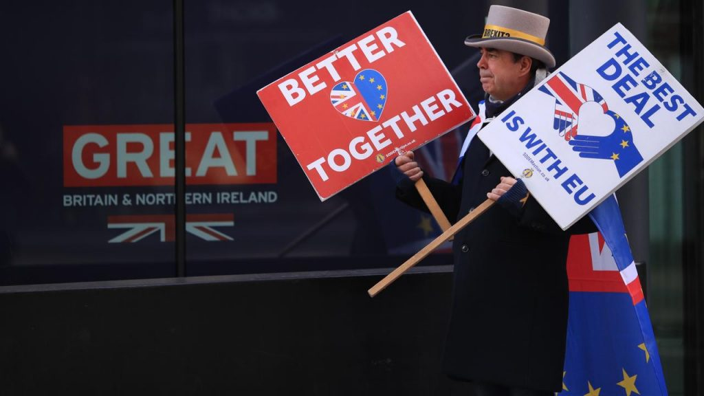 Brussels may consider approving the Brexit agreement for another two months  Currently