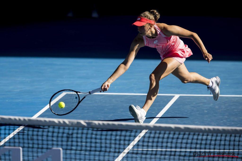 Elise Mertens and Arena Sabalenka into the Australian Open quarter-finals