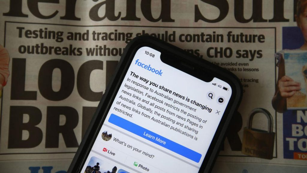 Facebook to restart news sharing in Australia after commitments |  Currently