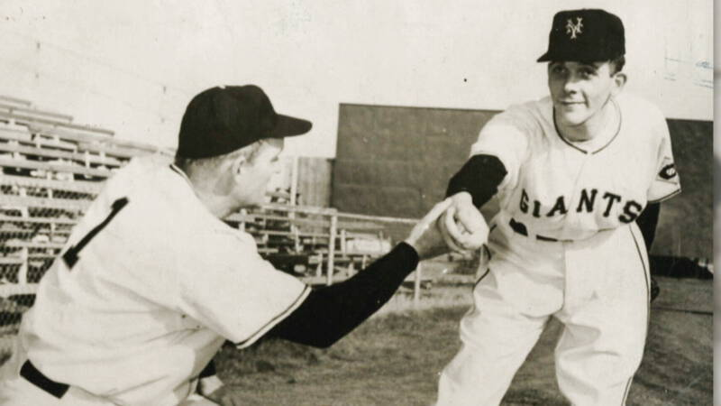 Han Urbanus taught Holland to play baseball after a spell with the Giants
