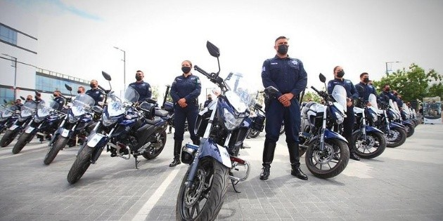 Jalisco Security: 40 motorcycles are delivered to the Zapopan Police