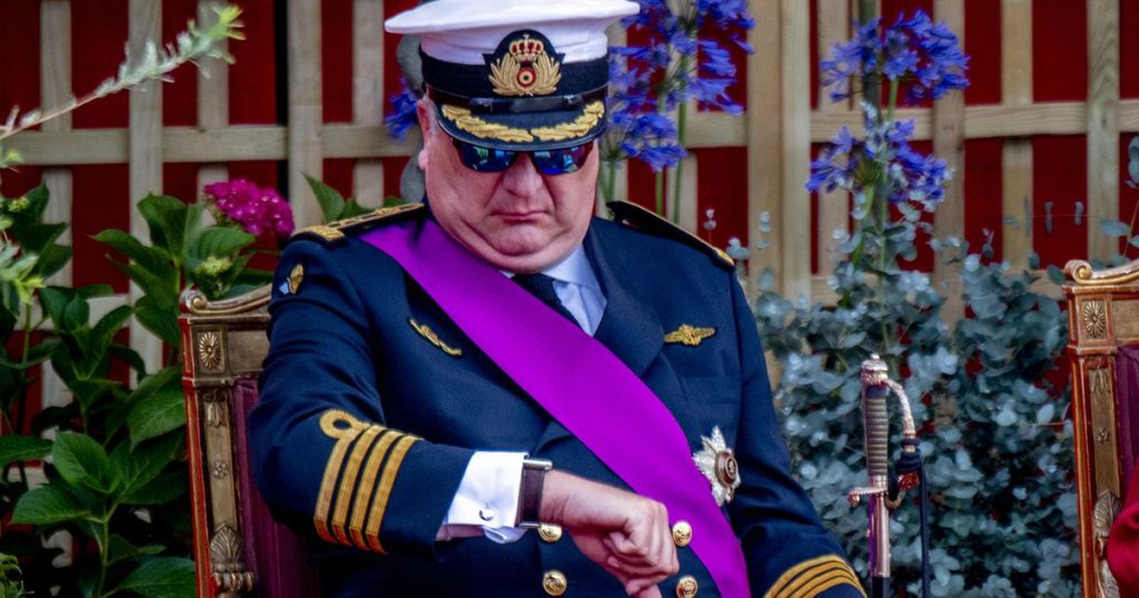 Prince Laurent is still waiting for 50 million |  Entertainment
