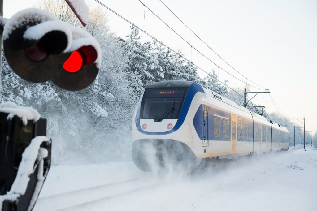 Railway management during the winter in the Netherlands