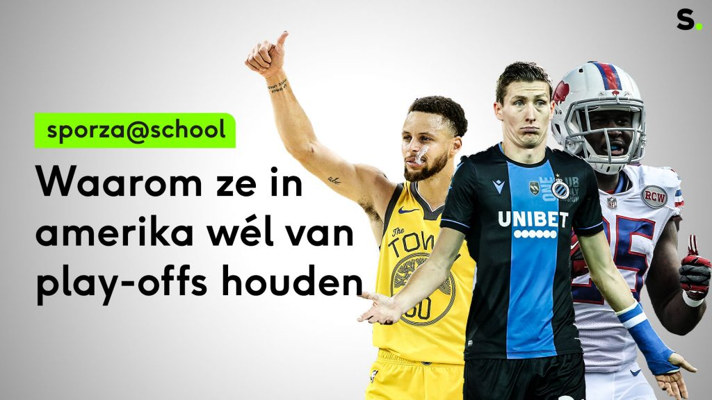 Sporza @ School # 29: Why are they exciting in the US to play playoffs?     Sporza school_school